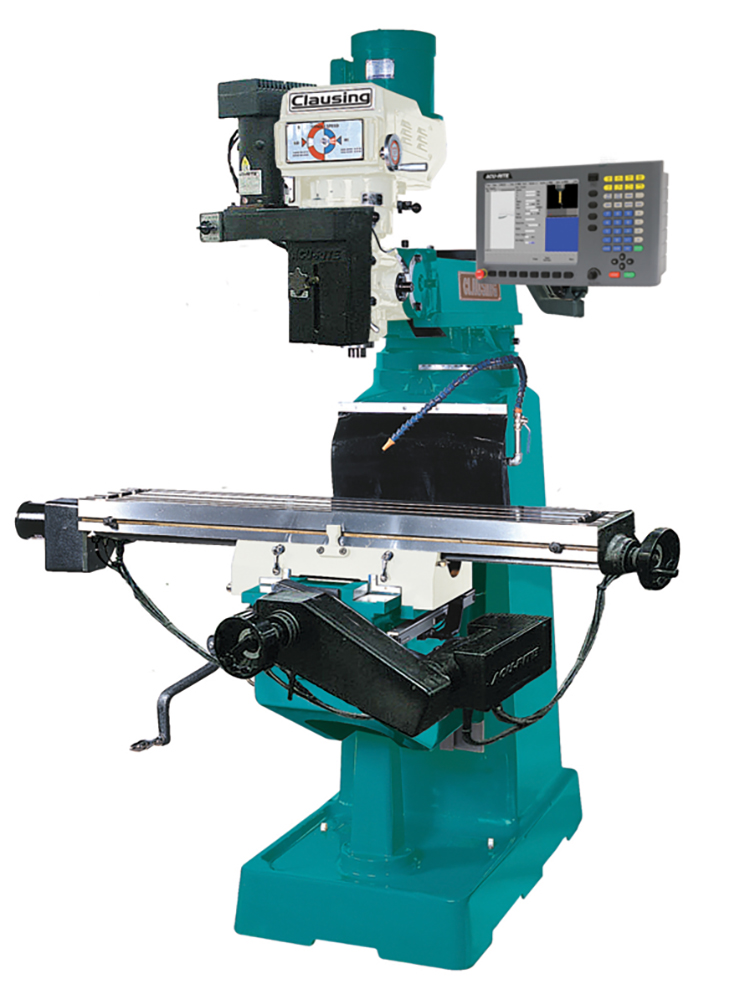 Clausing MillPWR CNC mill unveiled