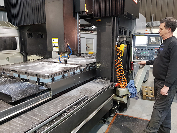 Gantry machining centre moulds future at TRP