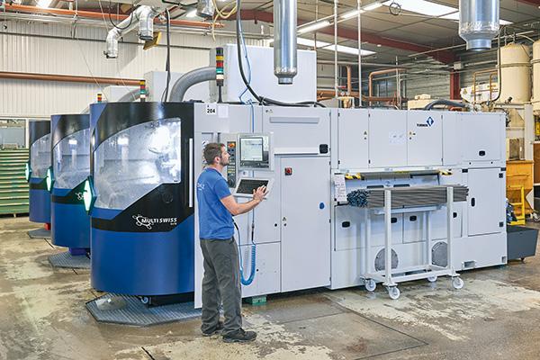 Automotive supplier places trust in Tornos