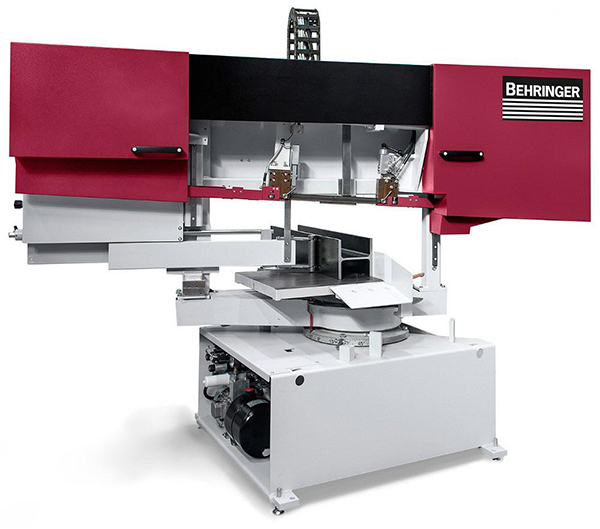 Mitre-cutting bandsaw unveiled