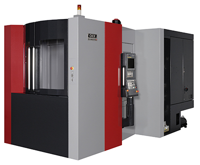 Machining centre supports heavy-duty cutting