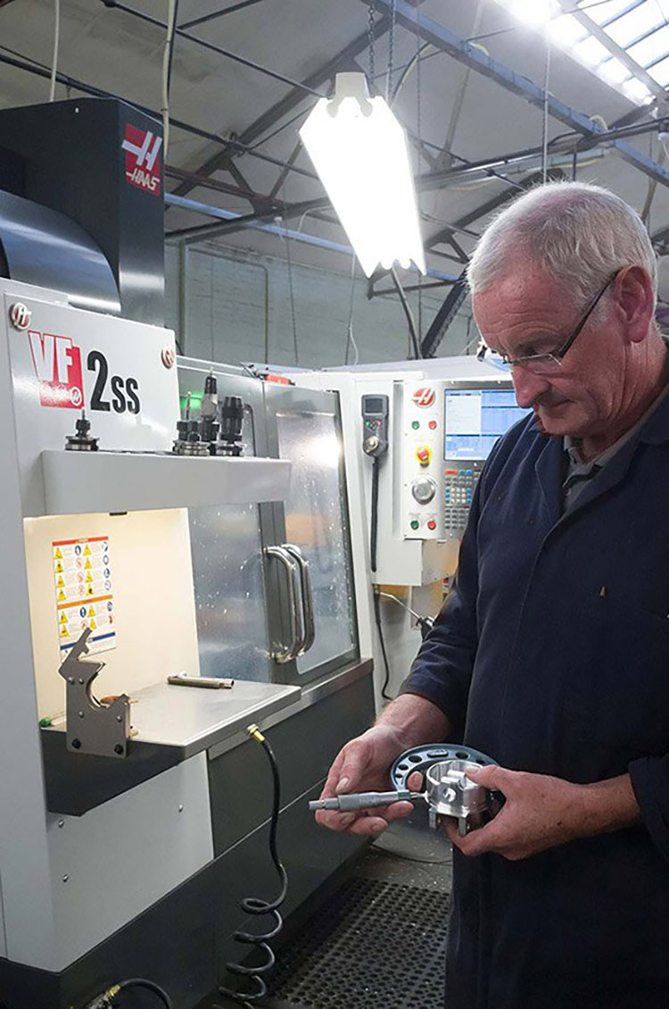 Ejecting inefficiency by investing in Haas