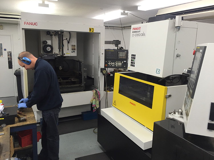 More Fanuc machines installed at Alan Spargo