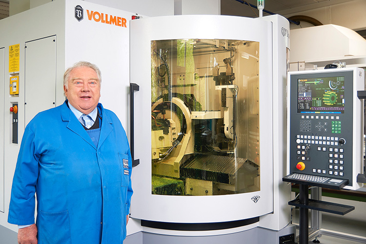 Prewi relies on Vollmer machines