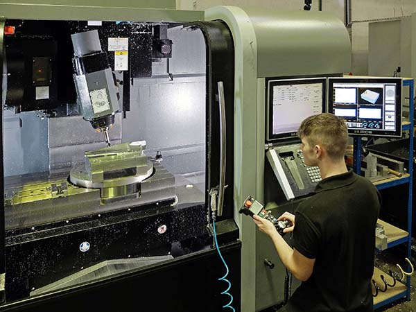 Aerospace firm expands five-axis machining