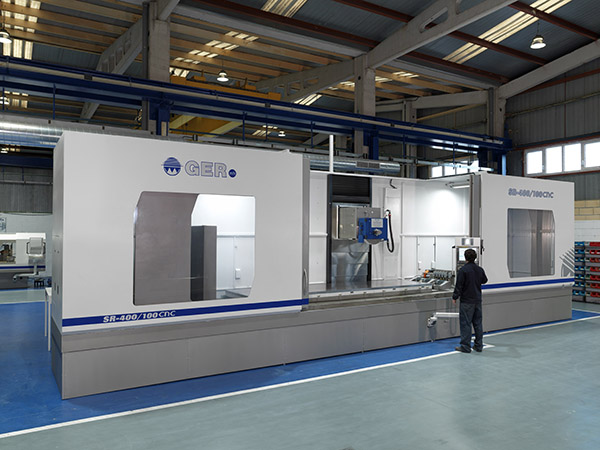 Largest profile surface grinder from GER