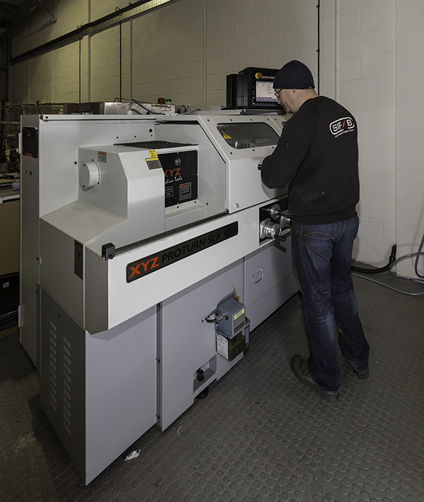 SiFab gains control with machining capability