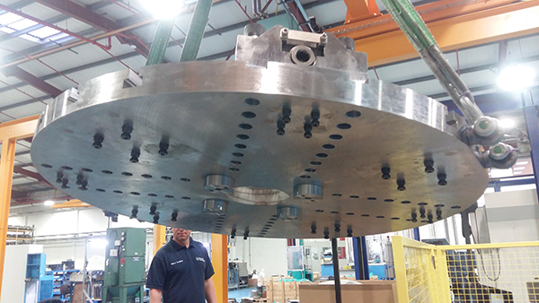 Workholding precision boosts Michell Bearings