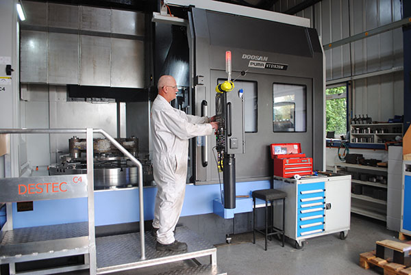 Vertical turning centre boosts business