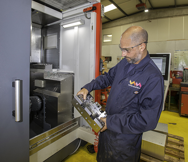 Growth drives need for five-axis machining