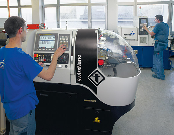Producing precision watch components