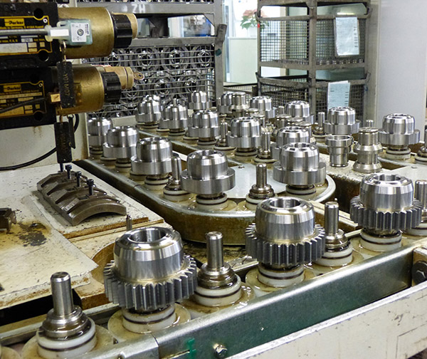 Getting into gear with new mandrel