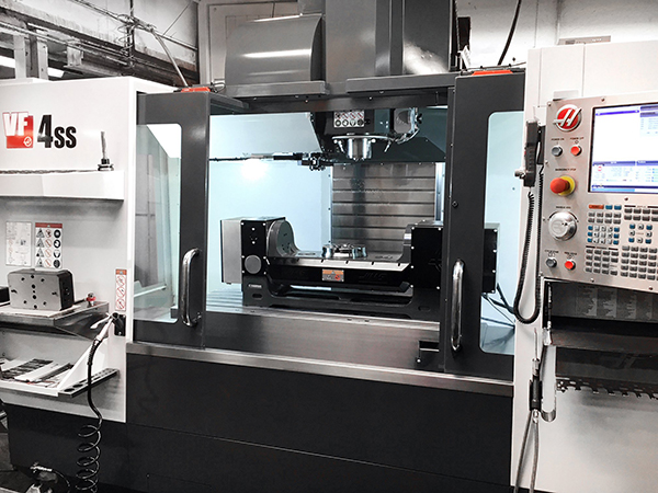 Aerospace specialist relies on Haas