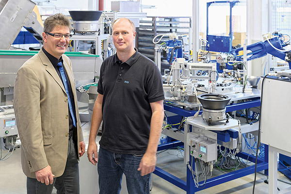 Schunk has fingerprint in automotive industry