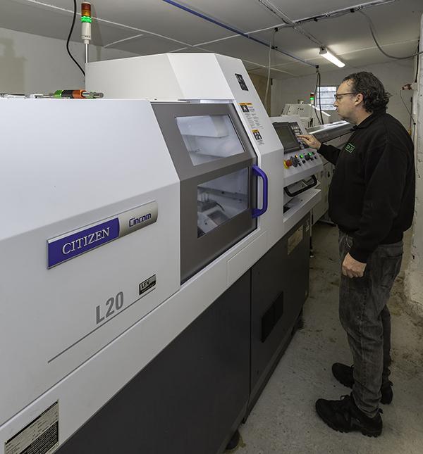Machine investment reaches £400,000