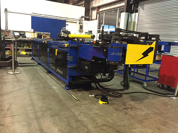 Fourth Unison tube bender at aerospace firm