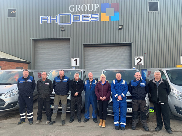 Service team expanded at Rhodes Interform