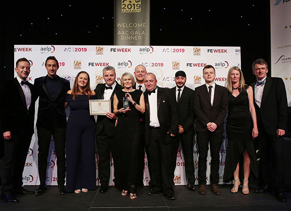 Award for training firm