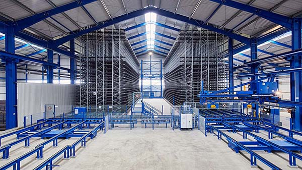 Kasto offers on-site warehouse build