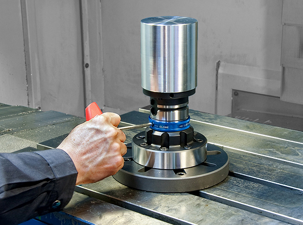 Efficient work holding for five-axis machining
