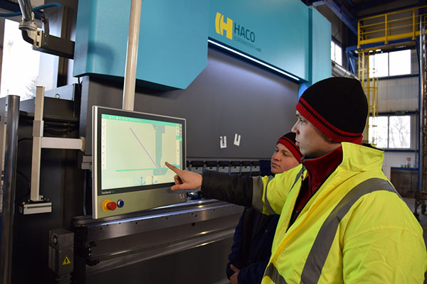 Steel specialist invests in press brake
