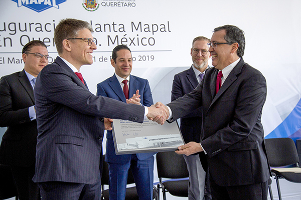 Mapal opens second site in Mexico