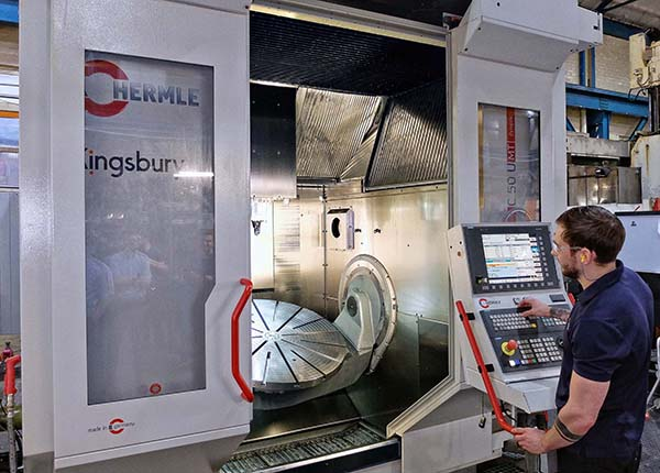 Silcoms installs Hermle five-axis machine