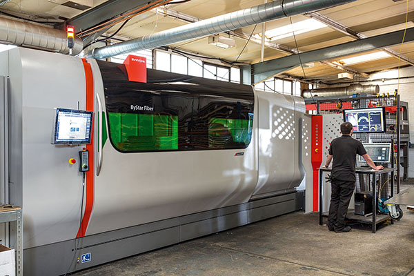 Laser-cutting subcontractor witnesses rapid growth