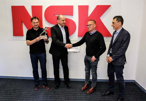 NSK names Certified AIP Partner