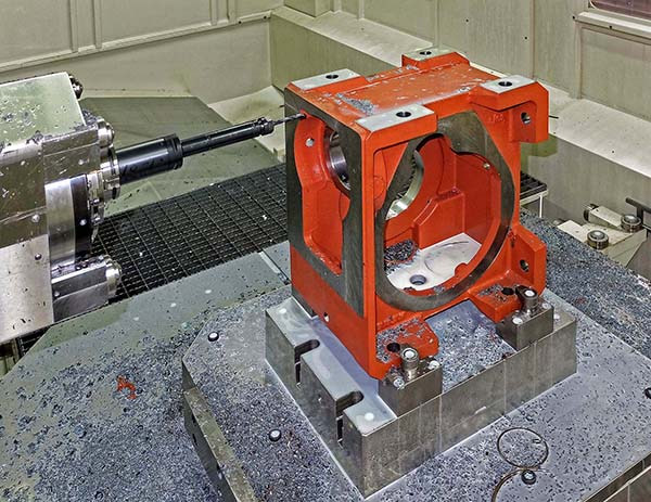 Gearbox casings produced  up to 66% faster