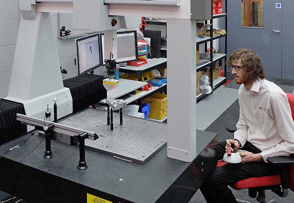 Laser Scanning expands with second CMM