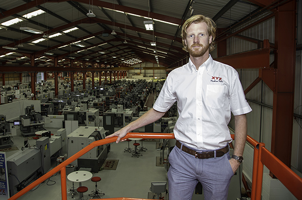 XYZ names service manager